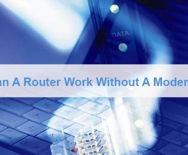 Can A Router Work Without A Modem
