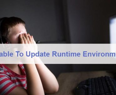 Unable To Update The Minecraft Runtime Environment