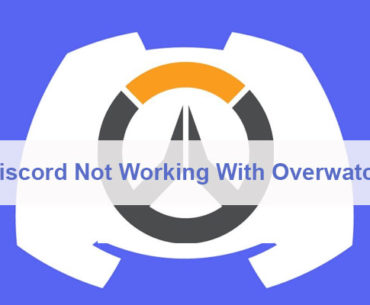 Discord Not Working With Overwatch